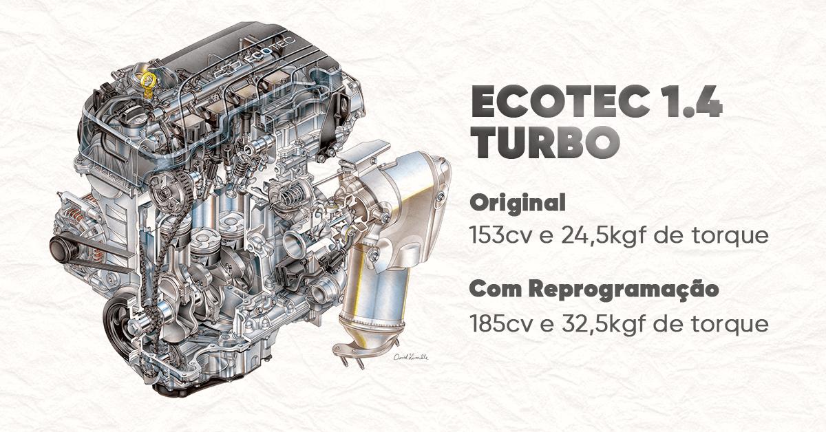 motor ecotec turbo chip de potencia cruze