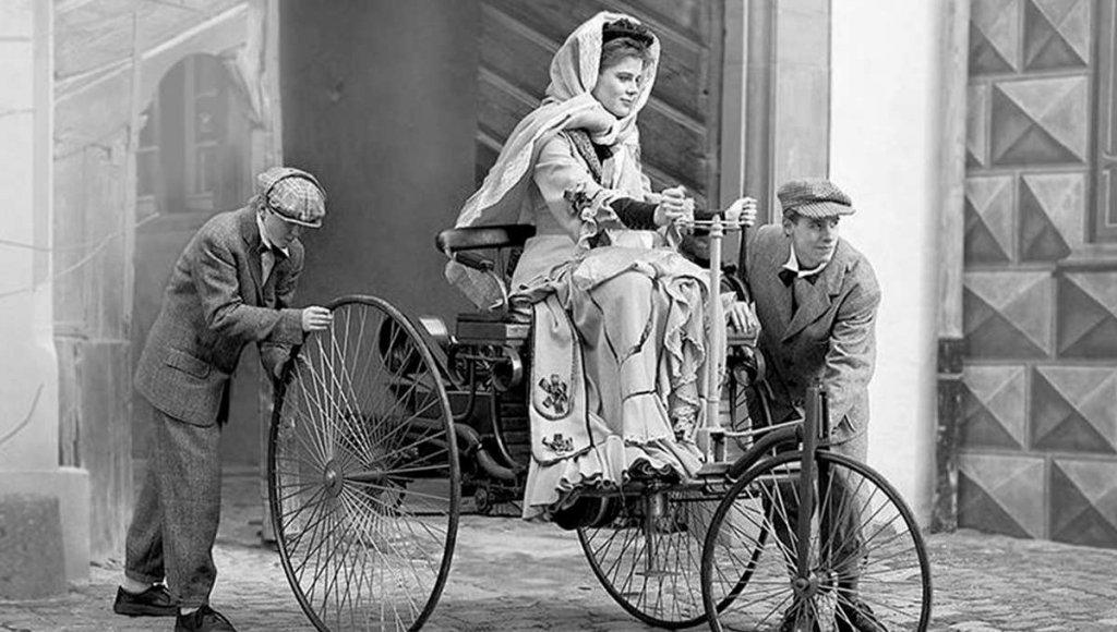 Bertha Benz Dia Internacional da Mulher
